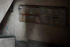 mailbox of apartment (kasa51) Tags: mailbox apartment yokohama japan