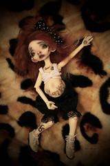 Penny Monkey (Vali.Tox.Doll) Tags: monkey neferkane nefer kane circus circuskane ckdolls ckdoll bjd balljointeddoll ball jointed doll custom tattoo tattoos wig mohair piercing makeup