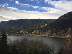 Break In The Weather (worm600) Tags: norway flm flam fjord flmsbana railroad