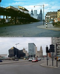 The Strand, 1958 and 2016 (Keithjones84) Tags: liverpool oldliverpool thenandnow history localhistory merseyside rephotography