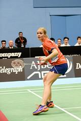 NBLmatch-5100-0452 (University of Derby) Tags: 5100 badminton nbl sportscentre universityofderby match