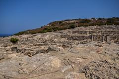 Kameiros (lGBSl) Tags: ancient square plinth fountain kameiros house island city greece column pillar rhodes greek