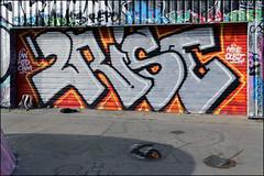 2Rise (Alex Ellison) Tags: 2rise gw ghostwriters cbm mileend skatepark eastlondon urban graffiti graff boobs