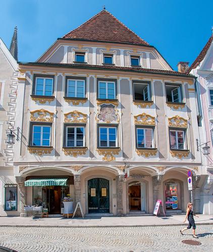 Steyr - Bürgerhaus, Grünmarkt 8