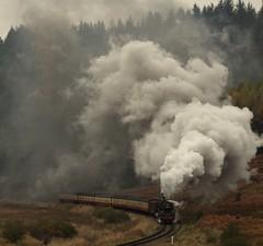 Fen Bog (feroequineologist) Tags: 76038 76079 76084 railway train steam northyorkshiremoorsrailway nymr nym