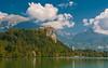 lake & castle - Bled (06) (Vlado Ferenčić) Tags: slovenia lakes lakecastle lakebled bled nikond90 nikkor182003556 cloudy clouds sky