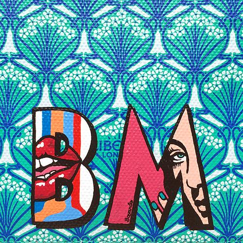 Alphabet Prime Liberty BM close up