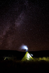 Sweet Dreams (The Noisy Plume) Tags: tipi camp camping night stars