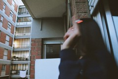Ginevra. (vanessa risoli.) Tags: people ginevra love cigarette sigaretta smoke vsco vscogood grana color colors amazing girl focus