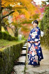 110 (motonari1611) Tags:        kimono japan autumn nikon potrait