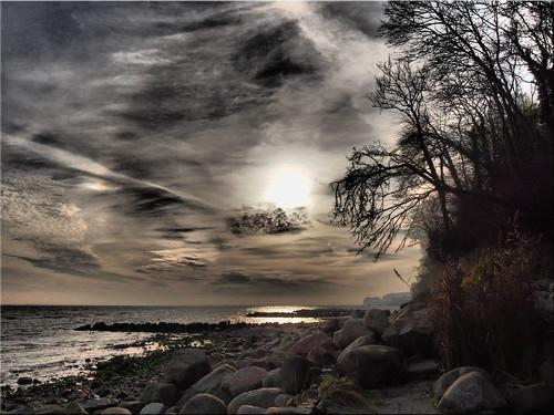 A November day at the Baltic Sea