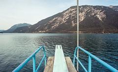 Achensee (Robert Mehlan - Munich) Tags: perspektive leica weite achensee wasser berge kodakektar100 film epsonv700 summaron2835mm analog leicamp robertmehlan