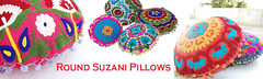 banner round suzani pillows psd copy (NehasCraft) Tags: pillow cases embroidered indian cotton ethnic suzani gypsy hippie