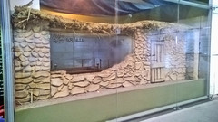 The Prophet's house at Exhibition on Muhammad [pbuh] at Al Masjid An Nawawi (nabm0) Tags: medina muhammad islam dawah life biography earlyislam hadith history islamic quran revelation calligraphy exhibition