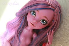 r1qLQn2Y1Vo (Cleo6666) Tags: kjersti trollson monsterhigh monster high mattel custom ooak repaint doll