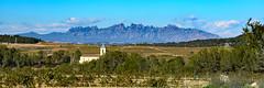 Montserrat mountains from ArtCava winery,  Cava (donhall9141) Tags: castile spain cava mountains land 2016 phototype landscape 201611tacruise