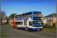 18406, Christchurch Drive (Jason 87030) Tags: d3 dvntry northampton northants northamptonshire stefenhill christchurchdricve dennis trident doubledecker stagecoach 18406 late route alx400 kx06jxt