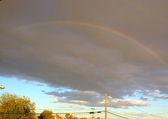 Couple of more Rainbows over Torrance. #rainbow #torrance #colorful #skysnappers #rainbows #pretty #clouds (Jordon Papanier) Tags: rainbow torrance colorful skysnappers rainbows pretty clouds