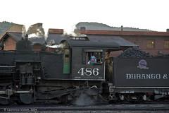 Ready for Departure (l.e.violett) Tags: railroad locomotive durango silverton dsng pse