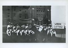 Williston Hall Women's Suffrage, 1917 (Regional History Center & NIU Archives) Tags: boycott demonstration protest niu northernillinoisuniversity student activism