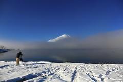 Fujiyama (kura51) Tags: 5d3 2016 december ef2470mmf4l lakeyamanakako mtfuji winter yamanashi