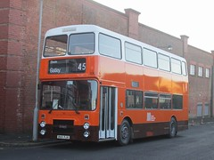 GM Buses 3065 B65PJA Museum of Transport, Manchester on 45 (1280x960) (dearingbuspix) Tags: preserved greatermanchestertransport greatermanchester gmbuses manchesterchristmascracker manchesterchristmascracker2016 3065 b65pja museumoftransportgreatermanchester museumoftransport