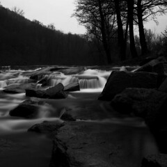 Flow (Simone R) Tags: flow river long exposure longexposure nd ndfilter olympus autumn black blackwhite blackandwhite blacknwhite bnw bw dust em5 mirrorless december rocks lugano cassarate mood mzuiko omd switzerland swiss schweiz ticino minimal minimalist minimalism nature valley valle neutraldensityfilter