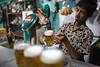Myanmar Beer - Bago, Myanmar (Maciej Dakowicz) Tags: city sea beer bar restaurant asia southeastasia drink burma drinking alcohol myanmar draft barman bago draught beerstation myanmarbeer