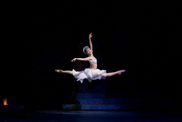 "Yuhui Choe as Nikiya in Marius Petipa's  La Bayadère.  The Royal Ballet 2008/2009  <a href=""http://www.roh.org.uk/whatson/production.aspx?pid=7069"" rel=""nofollow"">www.roh.org.uk/whatson/production.aspx?pid=7069</a> Photo by Bill Cooper"