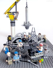 Behind the scenes (Jemppu M) Tags: lego movieset georgelucas minifigure stevenspielberg gunnm battleangelalita yukitokishiro legomovie sluban enlightenbrick legomovieset