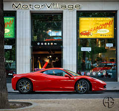 Vraaomm ! (A.G. Photographe) Tags: paris france french nikon raw f14 g ferrari ag fx 85 hdr parisian supercars anto d800 parisienne xiii parisien hdr1raw f458 antoxiii photoengine oloneo 85mm14g agphotographe hdrengine