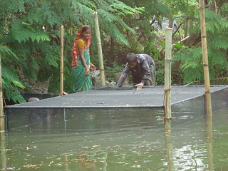 Cage aquaculture in practice, Bangladesh. Photo by WorldFish.