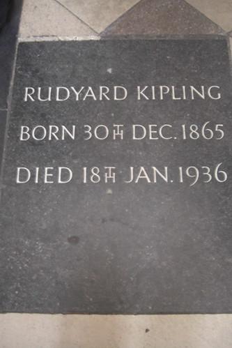 Rudyard Kipling grave