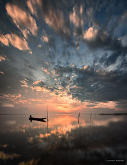 feel the rush II (sirman88) Tags: panorama seascape motion sunrise boat interestingness glorious malaysia slowshutter mystical pointing pantai kelantan nd400 traveldestinations d7000 tokina1116 sirman photographyoutdoors sirman88 azmanrahmanphotography sri7