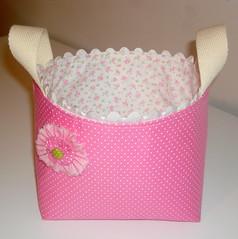 Cesto de Tecido. (Arte de Unir Retalhos) Tags: patchwork cesta tecido cesto cestinha cestodetecido