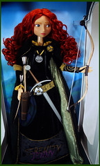 Limited Merida Doll (serenity jenny) Tags: red store doll dolls head disney merida pixar brave 18 limited edition 7000 disneybravedoll