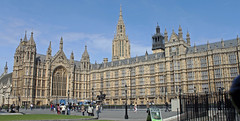 Palace of Westminster (TonyKRO) Tags: building london history housesofparliament parliament bluesky touristattraction palaceofwestminster