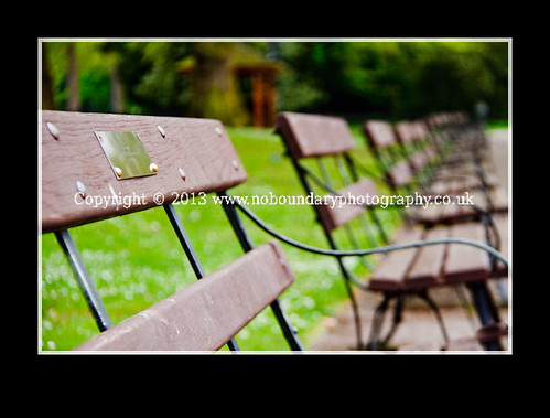 Benches at Battersea Park-