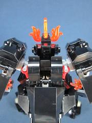 top view 2 (Messymaru) Tags: original robot lego mecha mech melee moc
