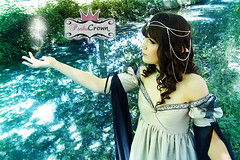Princess Elf dress (Ae-Chan) Tags: dress princess magic elf fantasy crown princesa vestido elfa elven fantasa pinku aechan pinkucrown