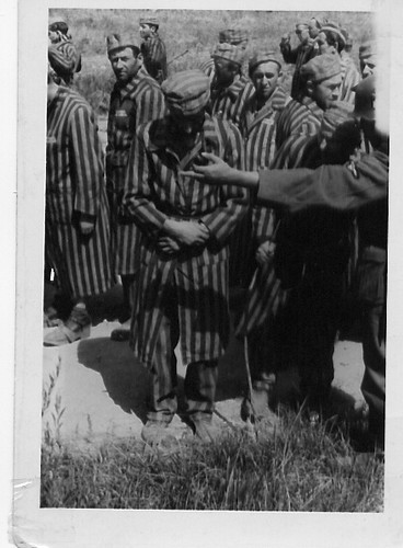 Concentration Camp, photo confiscated from German Officer