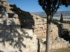 128 - Original retaining wall (Scott Shetrone) Tags: events places athens greece acropolis 5th anniversaries theatreofdionysus