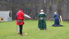 Caerphilly Castle Wales (fillbee) Tags: archery marcher cadw walesuk