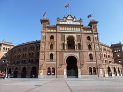 La Plaza de Toros de Las Ventas - Madrid, Spain (Andrea Moscato) Tags: madrid city building square piazza spagna citt andreamoscato