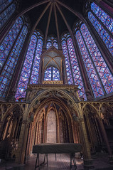Sainte-Chapelle Interior 3 (bvi4092) Tags: travel paris france building church window architecture photoshop nikon worship europe interior religion sigma chapel stainedglass ceiling stained 1020 saintechapelle sigma1020 d300s