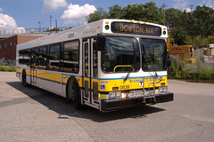 MBTA Bus, Credit:HR (Massachusetts Office of Travel & Tourism) Tags: bus publictransportation transportation mbta