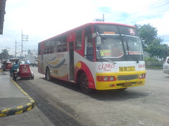 Claro Trans V-13 (Hari ng Sablay ) Tags: bus pub philippines jam fairview diehards nissandiesel clarotrans pbpa santarosaphilippines exfoh ordinaryfare novastop cityoperation jftliner philippinebusphotographersassociation