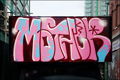 Mother (Alex Ellison) Tags: urban truck graffiti painted lorry van eastlondon wtm wordtomother