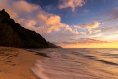 Ke'e Beach (Alex Schwab) Tags: sunset beach kauai kee napalicoast sigma1020 haenastatepark 60d