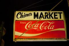 Chimes Market (Jeremy Brooks) Tags: california usa sign vintage oakland market coke cocacola alamedacounty